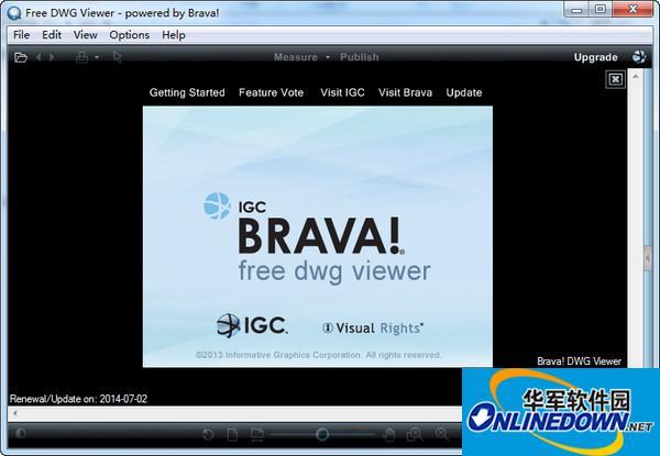 DWG、DWF、DXF查看浏览器(Free Dwg Viewer)