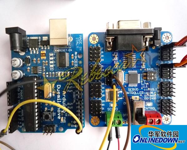 USBSSC 32路舵机控制器调试软件