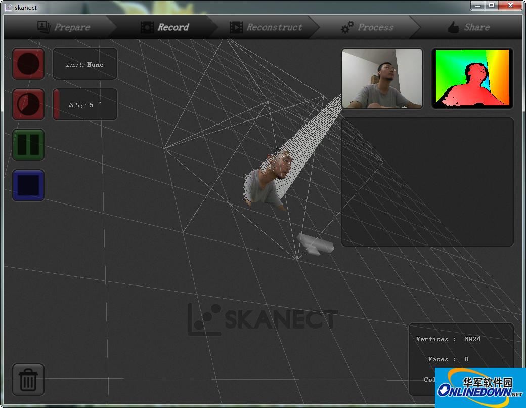 3D扫描工具(Skanect)