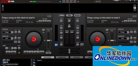 虚拟DJ免费版 Virtual DJ Free