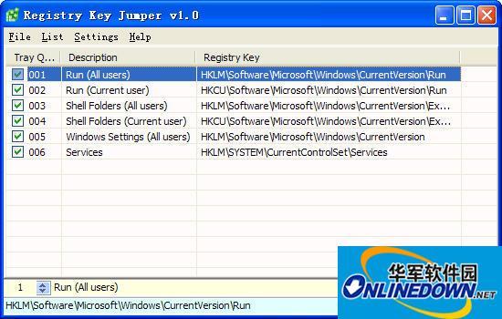 注册表快速跳转工具 Registry Key Jumper