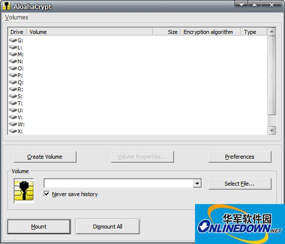 虚拟加密磁盘工具(Aloaha Crypt Disk)
