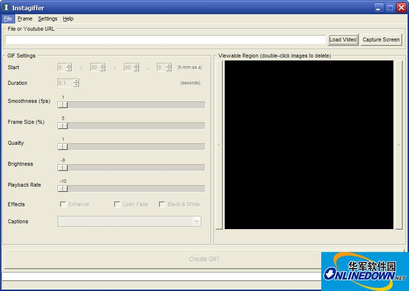 GIF动画制作(Instagiffer)