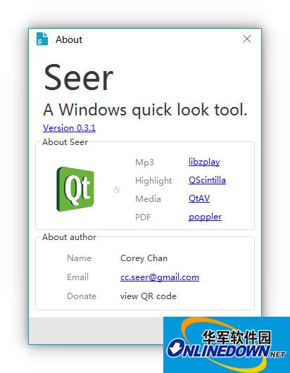 文件预览工具(Seer)