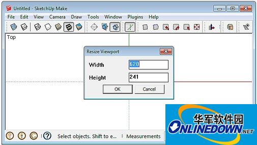 sketchup设置窗口大小插件(Viewport Resizer)
