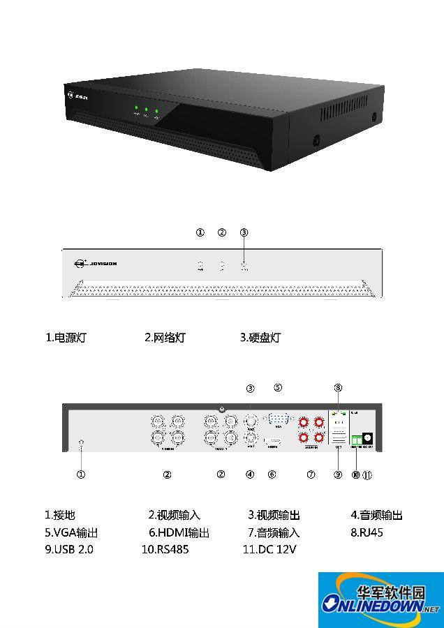 中维JVS-D7808-HV U盘修复程序