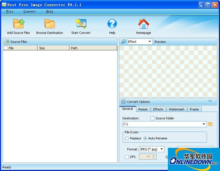 图像浏览编辑软件(Best Free Image Converter)