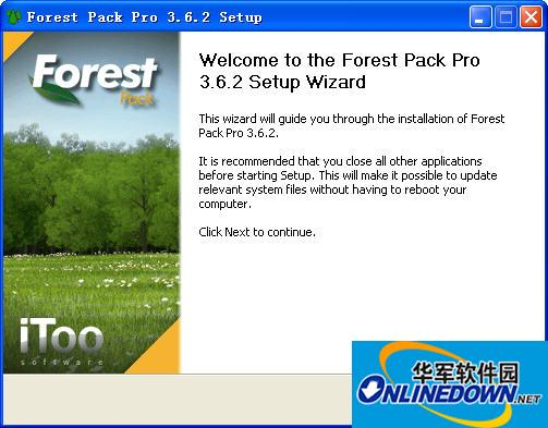 3D植被场景渲染插件(IToo Forest Pack Pro)