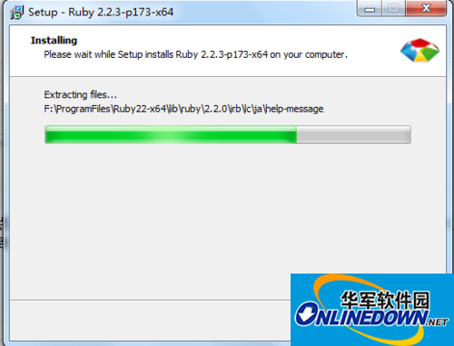 rubyinstaller for windows(红宝石)