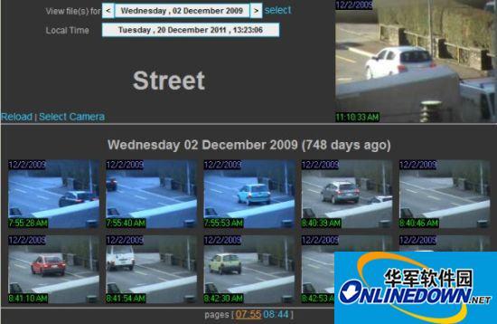 摄像头监控软件 ContaCam