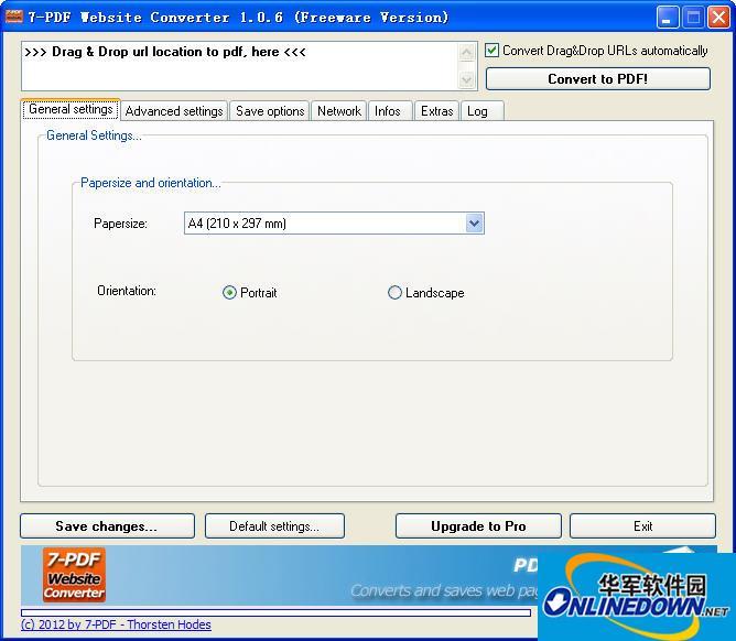 将网页转换为PDF(7-PDF Website)