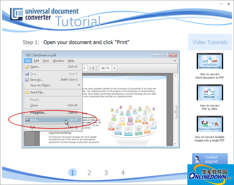 通用文档转换器Universal Document Converter