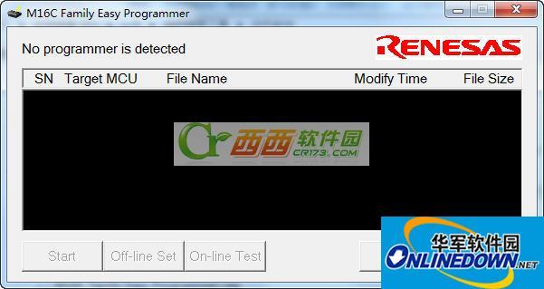 瑞萨烧写工具专用编程器软件
