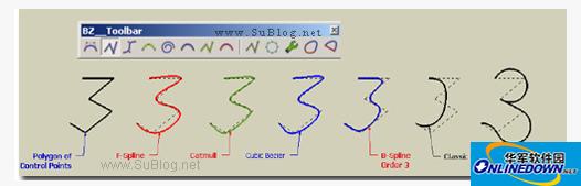 SU贝兹曲线插件(BezierSpline)
