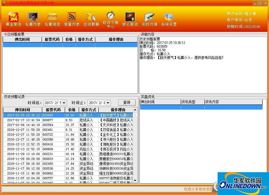 周小章操盘软件