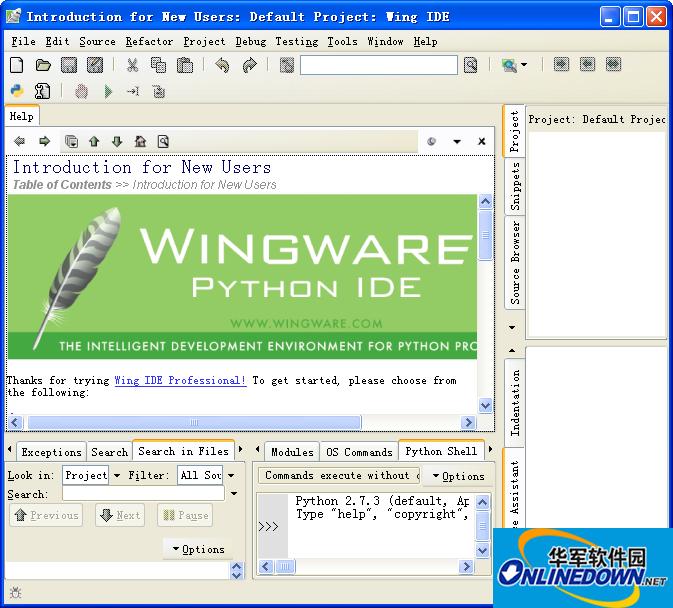 超赞的Python集成开发环境(Wing IDE)