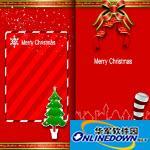 2016圣诞节卡素材 免费版