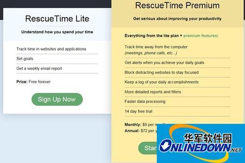 rescuetime中文版