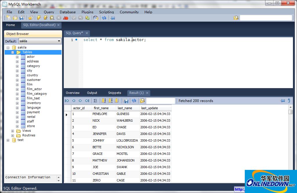 MySQL数据库设计建模(MySQL Workbench)