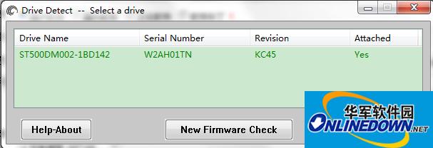 希捷硬盘检测软件(Drive Detect)