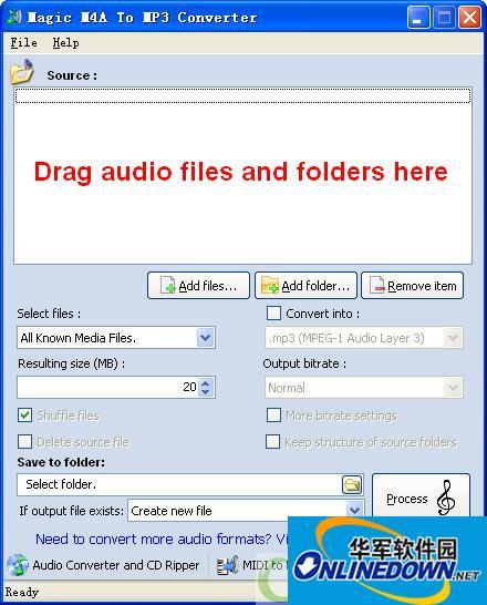多格式音乐转换器(Free M4A AAC OGG WAV MP3 audio converter)