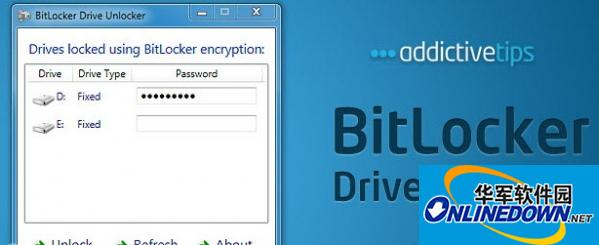 硬盘分区加密|BitLocker Drives Unlocker 1.1 正式版
