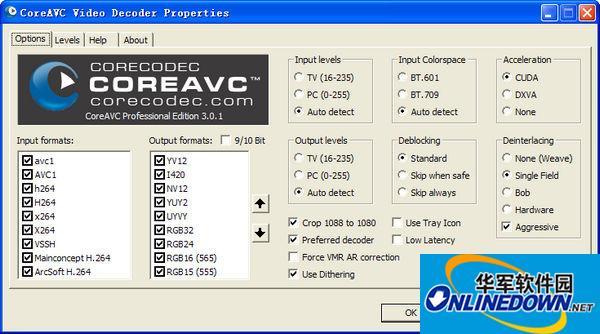 CoreAVC H.264 Video Codec Professional