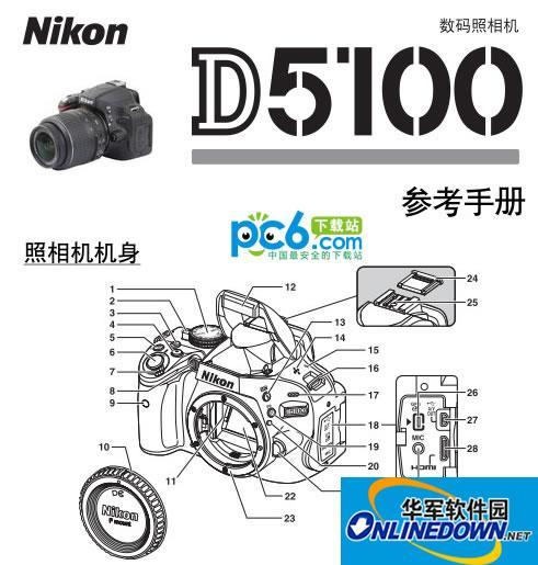 尼康d5100说明书 V1.0中文版