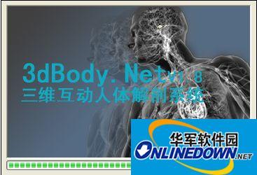 三维人体解剖软...