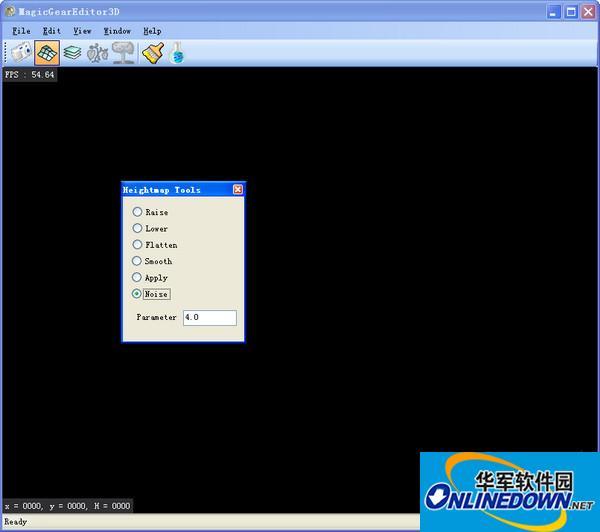 地形、室外场景编辑器(MagicGearEditor3D) 0.2.0绿色免费