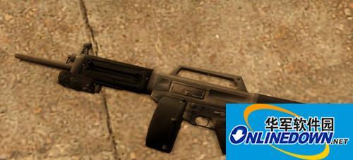 求生之路2USAS12散弹枪MOD PC版