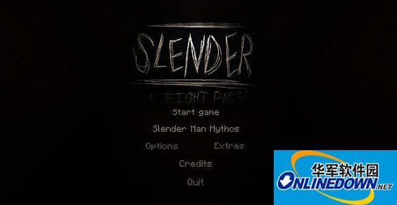 我的世界slender man恐怖地图 PC版