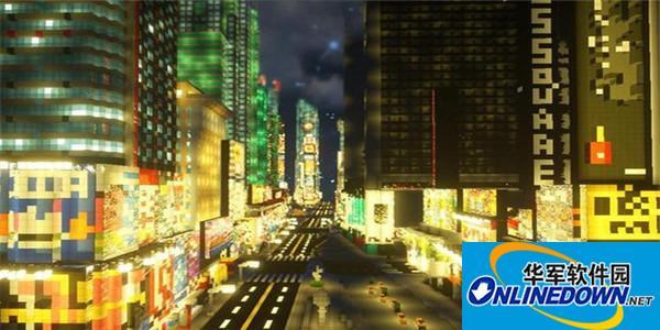 我的世界模拟大都市整合包
