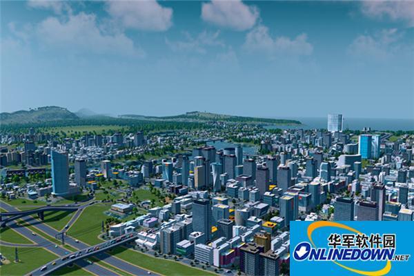 城市天际线公园中式牌坊MOD PC版