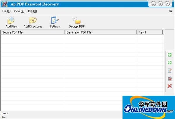 PDF密码清除工具(Adult PDF Password Recovery)