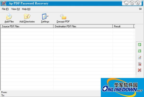 PDF密码清除工具(Adult PDF Password Recovery) V3.1官方版