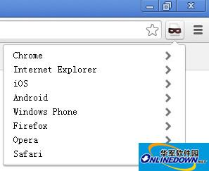user agent switcher for chrome  v2.0.0.4 中文版