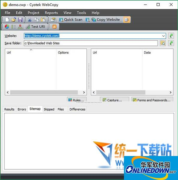 网站复制工具(Cyotek WebCopy)