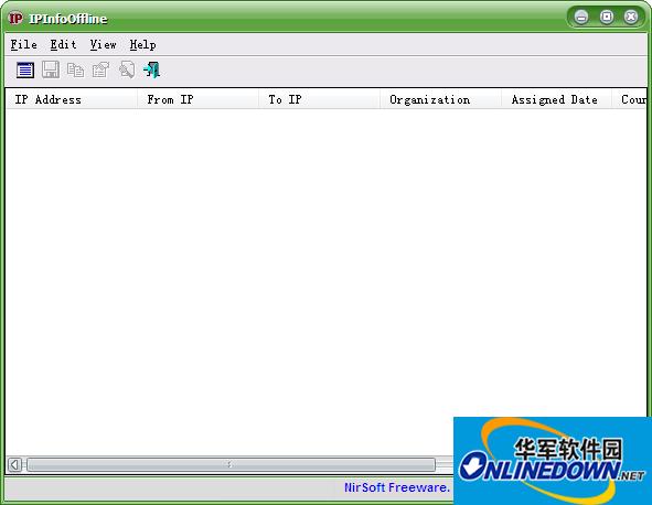 IPInfoOffline(IP信息离线查看工具)