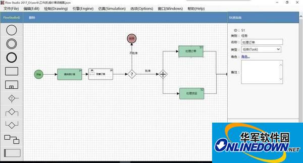 工作流集成开发环境FlowStudio
