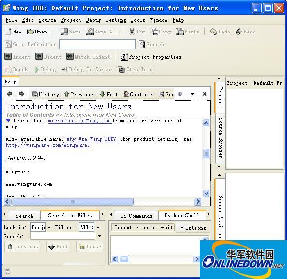 Python语言集成开发环境(WingIDE)
