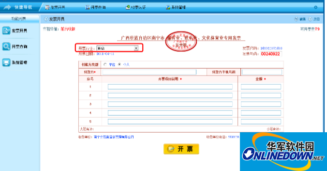 广西壮族自治区国家税务局网络发票系统VPDN版