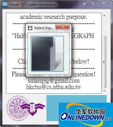 visual qr codes generator(二维码制作工具)