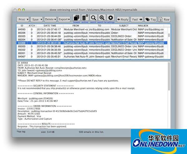 MailSteward Mac版