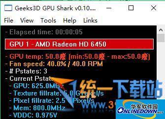 GPU Shark(显卡监视软件)  v0.10.0.4 绿色免费版