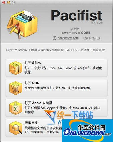 Pacifist for mac