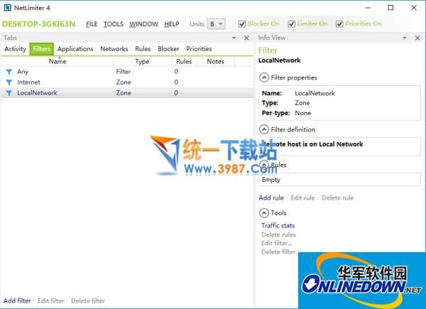 NetLimiter 4(带宽控制软件)  v4.0.33.0 最新版