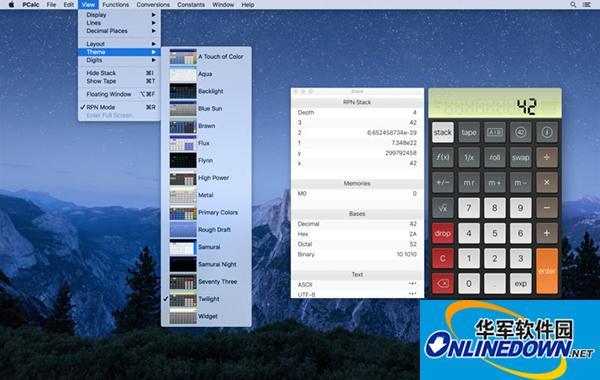 PCalc计算器Mac版