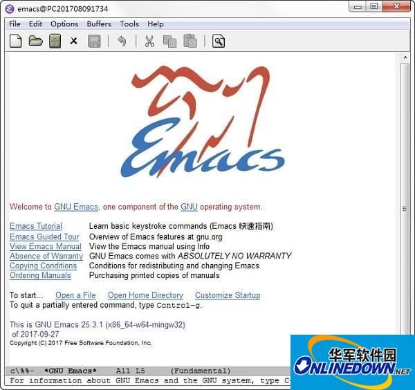 Gnu Emacs编辑器