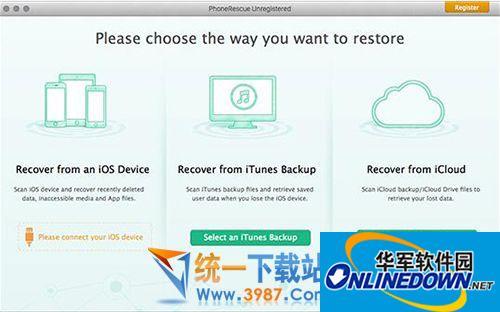 PhoneRescue Mac